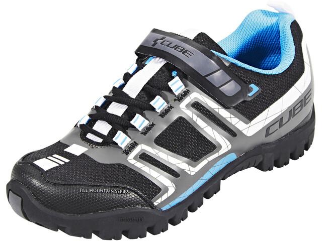 Cube All Mountain Schuhe Unisex black'n'white'n'grey'n'blue